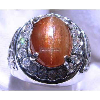 BATU MULIA CATS EYE SUNSTONES   batu permata