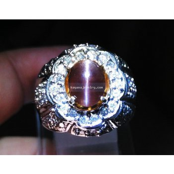 CINCIN PERMATA CAT EYES batu permata