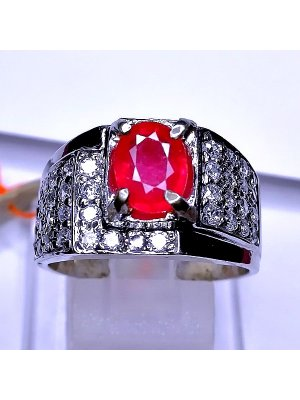 CINCIN RUBY CUTTING  batu permata