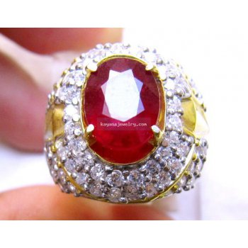 PIGEON BLOOD RUBY RB306  batu permata